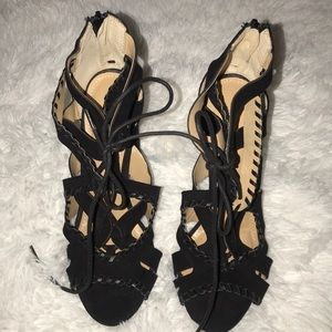 Brand New Strappy block heels